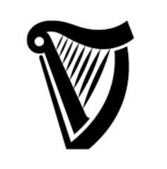 Guinness Harp Tattoo