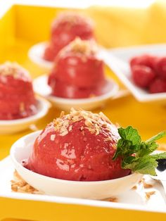 #SugarFree #Coconut #Raspberry #Sorbet
