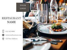 Facebook Template Restaurant Names, Facebook Business, Templates, Models, Stenciling, Stencils