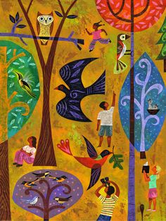 Our International Migratory Bird Day art for 2012. Features the vivid art of Rafael Lopez and 20 ways to get involved in bird conservation.