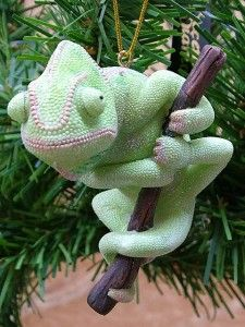 New Panther Chameleon Reptile Pet Christmas Ornament