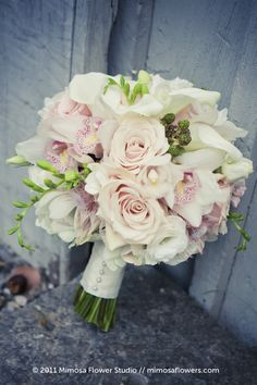Mimosa Flower Studio - Charm / Pink Bride's Bouquet 2