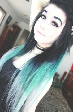 (Fc:Breaking Chany) Hi, I'm Lillith Costello, my mom's Ash Costello from New Yea. - (Fc:Breaking Chany) Hi, I'm Lillith Costello, my mom's Ash Costello from New Years Day. Pretty Hairstyles, Girl Hairstyles, Updo Hairstyle, Wedding Hairstyles, Afro, Indie Scene Hair, Style Rock, Alternative Hair, Pastel Hair
