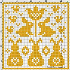 Crochet Potholders, Filet Crochet, Knitting Socks, Doilies, Pot Holders, Diy And Crafts, Cross Stitch, Dots, Easter