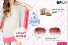 A touch of mid-eastern glam with the freshest shades of summer, a perfect #SummerLook to beat the heat.