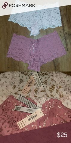 Victoria Secret panties Set of 2!  NWT Excellent Condition Victoria's Secret Intimates & Sleepwear Panties
