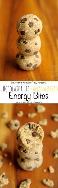 No-Bake Gluten-Free Banana Bread Energy Bites Recipe