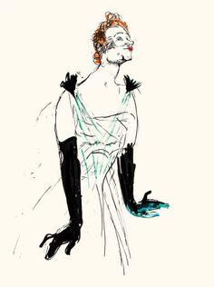 Henri de Touluse Lautrec, Yvette Guilbert