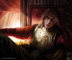 Magali Villeneuve Portfolio: A Game of Thrones LCG : Joffrey Baratheon