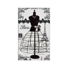 Black White Paris Fashion Mannequin Posters ($13) ❤ liked on Polyvore featuring home, home decor, wall art, black and white posters, paris home decor, black white poster, parisian wall art and paris poster