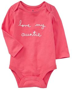Very Cute 'Love my Auntie' Shirt http://rstyle.me/n/etqxbr9te