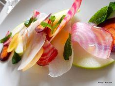 渦巻きビーツのサラダ
