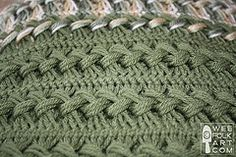 Ravelry: Hairpin Lace Tutorial/Afghan pattern by Kimara Wee Folk Art