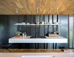 modern kitchen in the Hamptons