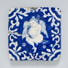 Philadelphia Museum of Art - Collections Object : Tile with a Cherub