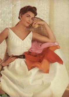 Glamour. 1954