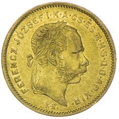Franz Joseph I. 1848 - 1916 4 Forint 1870 KB Gold, Kaiserreich