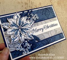 De Kijkkast: Poinsettia Petals, classic and completely contemporary! -With Viewing Box Live Video Poinsettia Cards, Christmas Poinsettia, Stampin Up, Homemade Christmas Cards, Greeting Cards, Xmas Cards, Elegant Christmas, Winter Theme, Christmas Inspiration