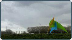 Kleurrijk Almere haven