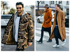 God Save the Queen and all: Street Style París Fashion Week #MAN #streetstyle