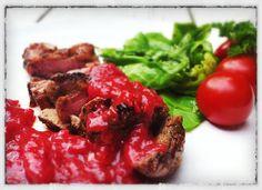 Steef's Blog: Eendeborst filet met pittige pruimensaus