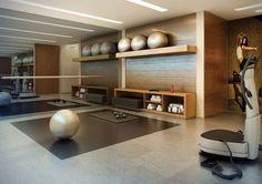 Ideas For Home Gym Flooring Basements Home Gym Basement, Gym Room At Home, Home Gym Decor, Workout Room Home, Workout Rooms, Home Gym Design, House Design, Dream Home Gym, Home Gym Flooring