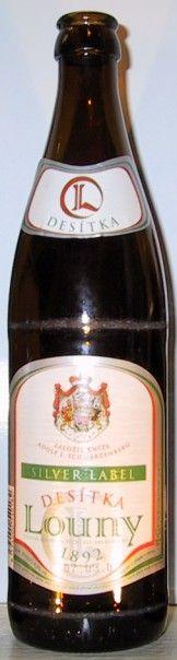 Pivovar Louny - Louny Silver label Desitka 4,3% pullo