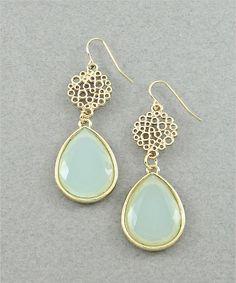 Seafoam Earrings #shoplately