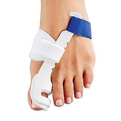 FootSmart Bunion Regulator - Smarts: Stretches tight tendons and toe muscles.
