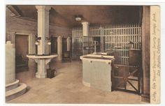 Safe Deposit Lobby Security Savings Bank Los Angeles California 1910c postcard on BidStart