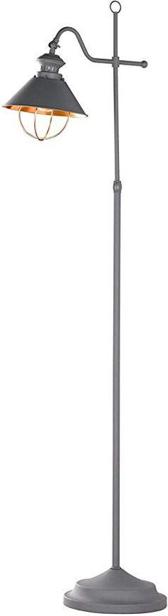 WOFI Standleuchte 12 W Messing Matt Metall 23 x 23 x 135 cm Integriert