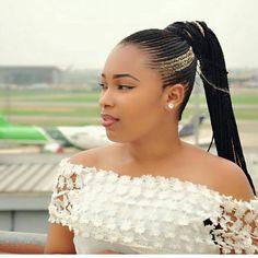 Ghana Braids Updos Cornrows Jumbo & Ponytail Nowadays Ghana braids h Medium Weave Hairstyles, African Braids Hairstyles Pictures, Half Braided Hairstyles, Ghana Braids Hairstyles, Hairstyles 2018, Braids Cornrows, Jumbo Cornrows, Cornrow Ponytail, Fishtail Braids