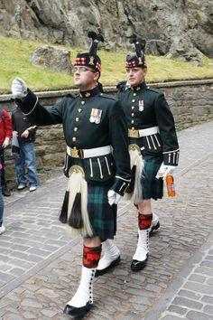 ROYAL REGT OF SCOTLAND, at Edinburgh Castle
