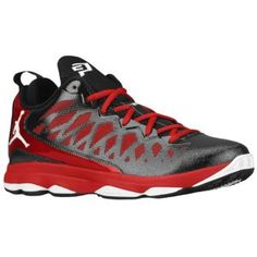 Jordan CP3.VI - Men's - Basketball - Shoes - Black/White/Gym Red @Eastbay