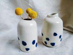 Stoneware Clay, Bud Vases, Ceramics, Creative, Handmade, Ceramica, Flower Vases, Pottery, Hand Made