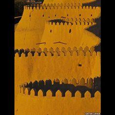 Muros de Khiva, Uzbequistão (Gaetan Lepage)