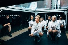 Backstage at Beyoncé's Formation World Tour in Dublin, on July 9, 2016.