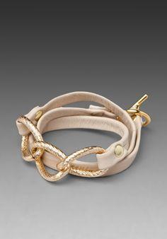 Gorjana - Parker Leather Wrap Bracelet