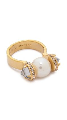 Rebecca Minkoff Crystal Ring
