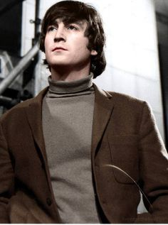A nice colorized picture of John