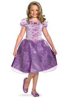 Child Tangled Rapunzel Costume