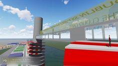 Sky Bridge, Dublin City, Best Interior Design, Wind Turbine