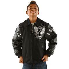 Pelle Pelle Kid's Premium Quality Wool Jacket   Men's Pelle Pelle Kid's Black/Black Premium Quality Wool Jacket K14XMJ-003 This Limited Edition Read  more http://shopkids.ca/pelle-pelle-kids-premium-quality-wool-jacket/