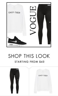 """""""chillin' day"""" by dreamyclassy ❤ liked on Polyvore featuring NIKE"""
