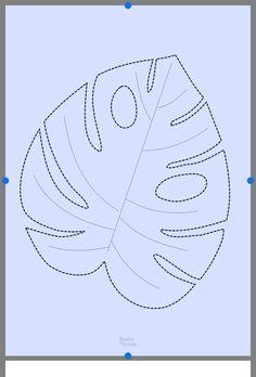 Leaf Template Printable, Fall Leaf Template, Printable Leaves, Flower Template, Owl Templates, Crown Template, Butterfly Template, Heart Template, Applique Templates
