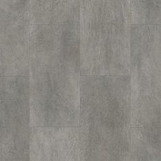 Quick Step - Sol PVC - Ambient Click - Béton Gris Foncé - ( 130 x 32 cm ép :4.5mm )