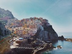 westeastsouthnorth:    Manarola Cinque Terre Italy // Taken by westeastsouthnorth