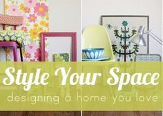 Would love to win this E-Course Giveaway so I can take the Style Your Space course! - Smile And Wave