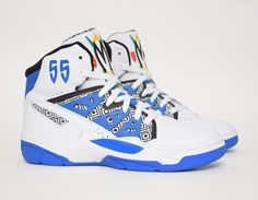 adidas  Mutombo OG White Blue  sneakers Streetwear a71caac4d