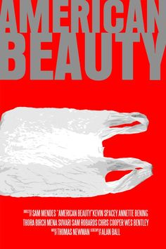 American Beauty Movie Poster Paper or Plexiglas or by FunnyFaceArt, $15.00